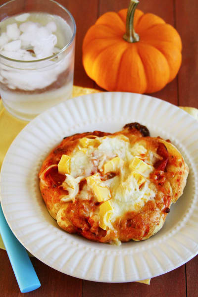 Pumpkin Pizza Dough Pic