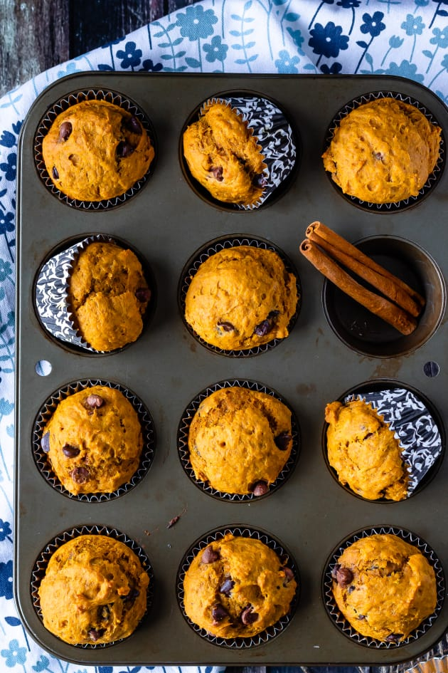 Chocolate Chip Pumpkin Muffins Picture