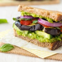 Broiled Eggplant Sandwich Recipe