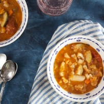 Roast Vegetable Soup Recipe