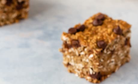 Chocolate Chip Banana Oatmeal Bars Pic
