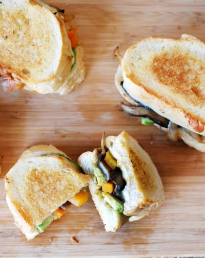 Fajita Grilled Cheese Image