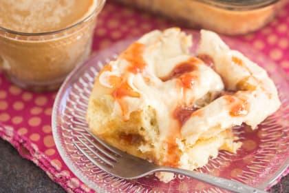 Peanut Butter & Jelly Sweet Rolls Recipe