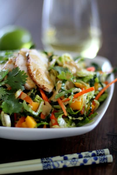 Thai Chopped Chicken Salad Picture