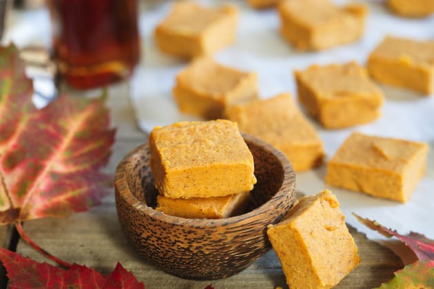 Paleo Pumpkin Pie Fudge Photo