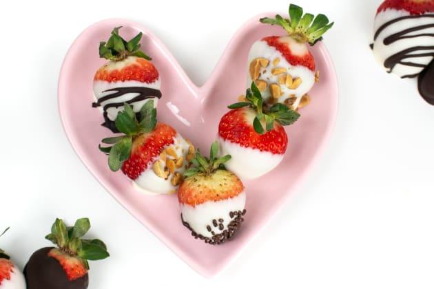 Chocolate Covered Strawberries Photo