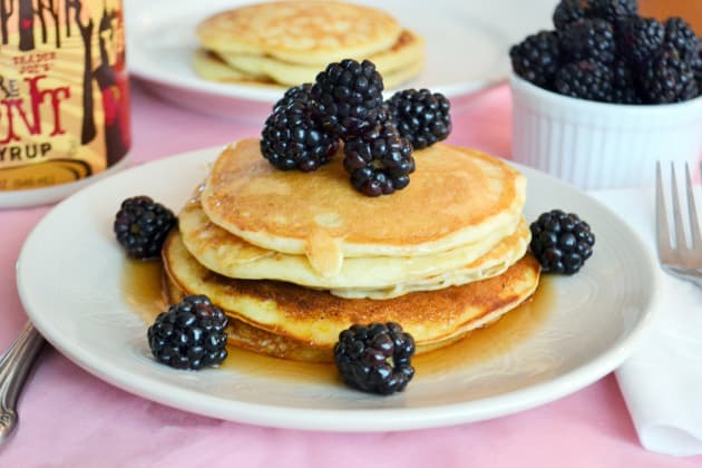 Lemon Ricotta Pancakes Photo