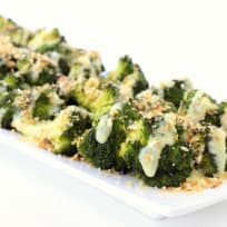 Roasted Broccoli with Buttery Bread Crumbs Recipe