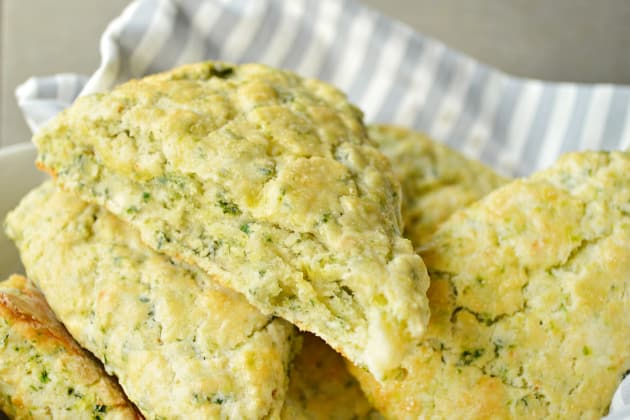 Spinach Feta Scones Photo