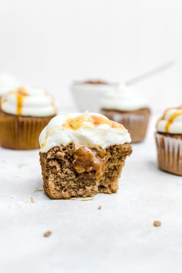 Caramel Apple Cupcakes Pic
