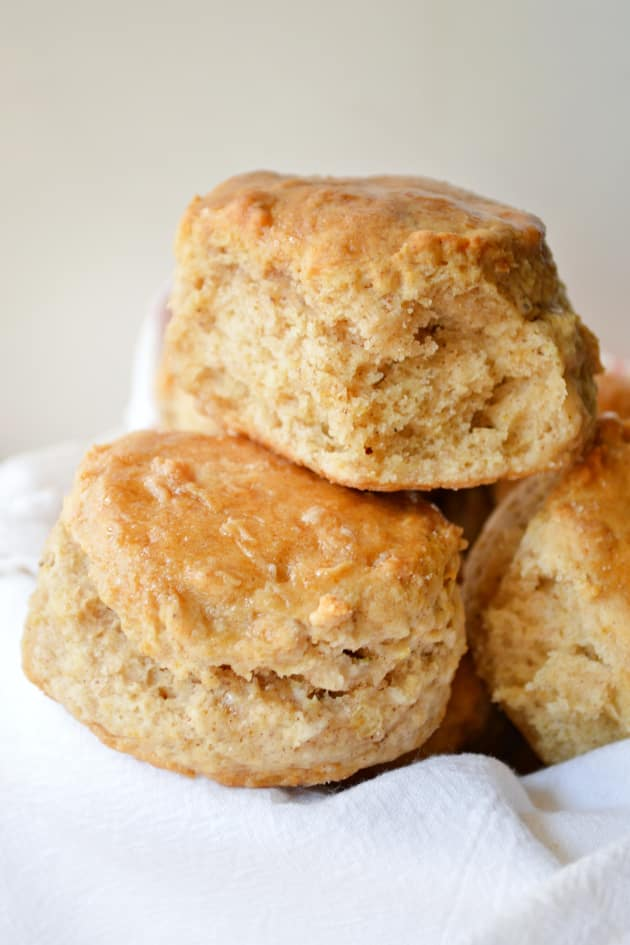 Apple Biscuits with Honey Butter Glaze Picture