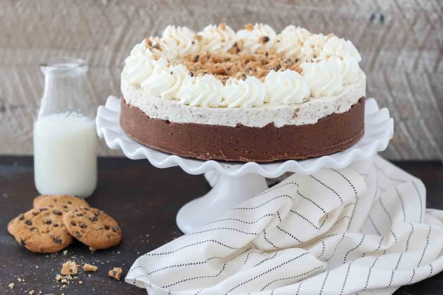 Chocolate Chip Mousse Cake Photo