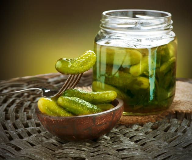 Brined Pickles Photo