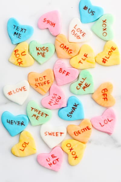 File 4 Homemade Conversation Hearts