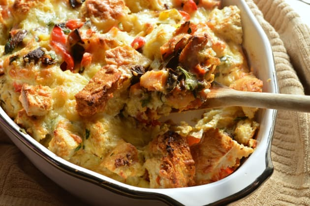 Vegetable Strata Picture