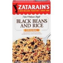 Zatarain's Black Beans and Rice Rice Dinner Mix