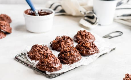 Double Chocolate Macaroons Recipe