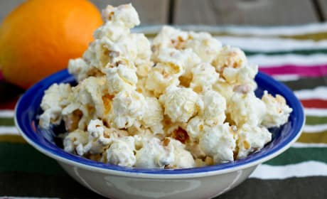 Orange Creamsicle Popcorn Recipe