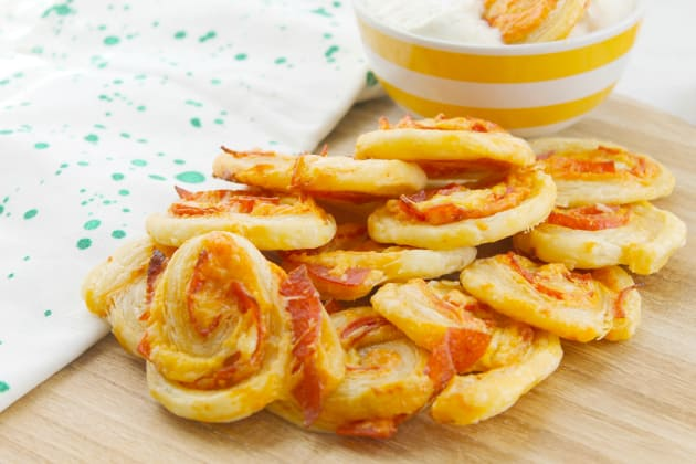Pepperoni Pizza Pinwheels Photo