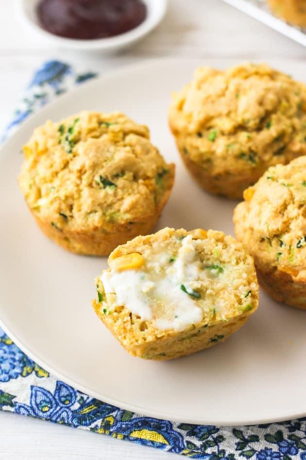 Zucchini Cornbread Muffins Picture