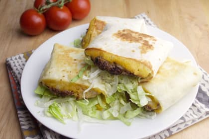 Quesadilla Burgers Recipe