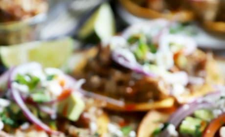 Instant Pot Crispy Carnitas Tostadas Image
