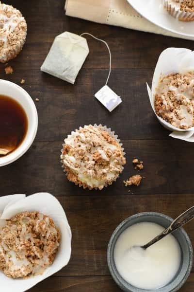 Lemon Earl Grey Streusel Muffins Image