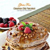Gluten Free Cinnamon Chip Pancakes