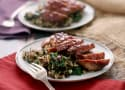 Whiskey Raspberry Glazed Duck Breasts