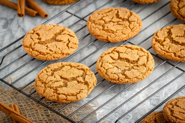 Soft and Chewy Ginger Cookies Photo