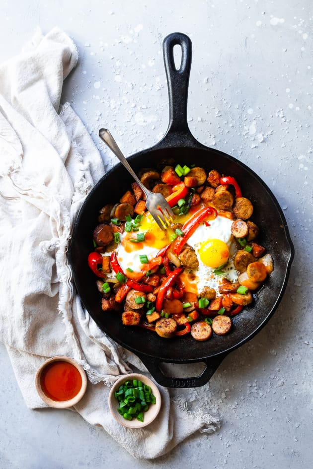 Buffalo Chicken Hash Picture