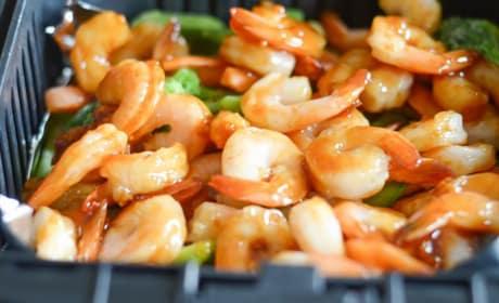 Gluten Free Air Fryer Honey Garlic Shrimp Pic