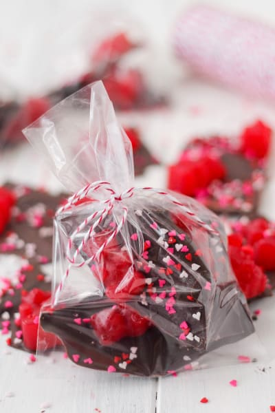 Valentine's Day Chocolate Bark Picture