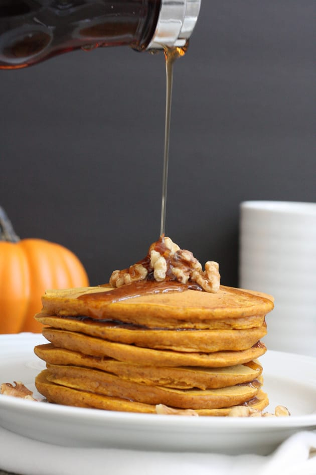 Whole Grain Pumpkin Pancakes Picture