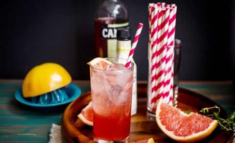 Blushing Grapefruit Collins Recipe