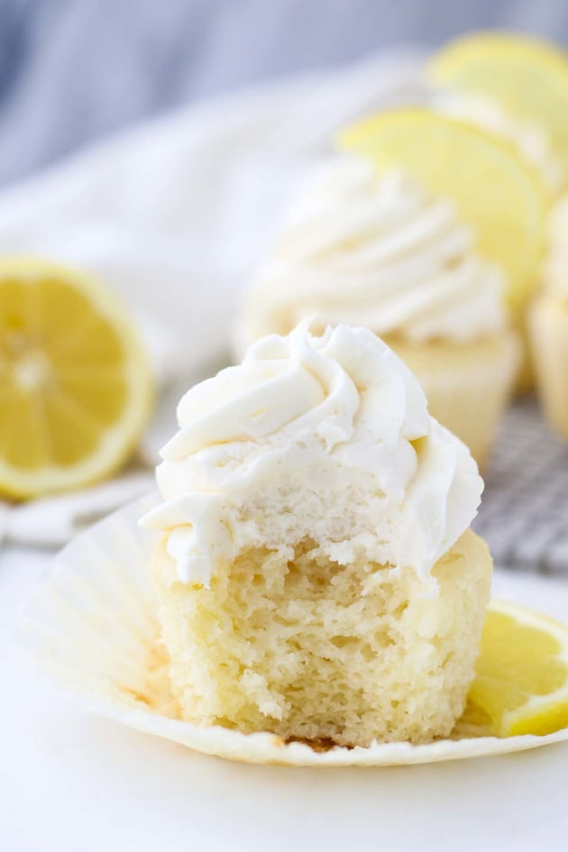 Lemon Cupcake Recipe Picture