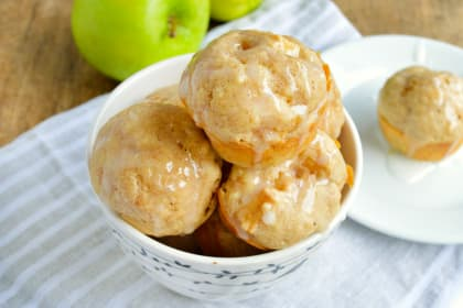 Apple Pie Pancake Muffins
