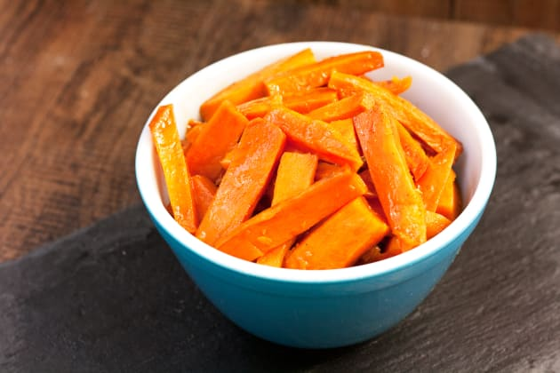 Apple Butter Glazed Sweet Potatoes Photo