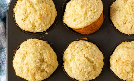 Lemon Coconut Muffins Picture