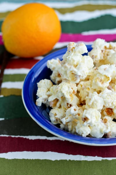 Orange Creamsicle Popcorn Image
