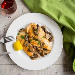 Easy chicken marsala photo