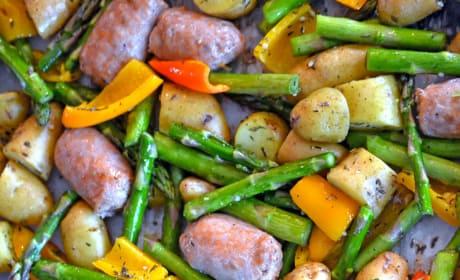 Sausage Sheet Pan Dinner Picture