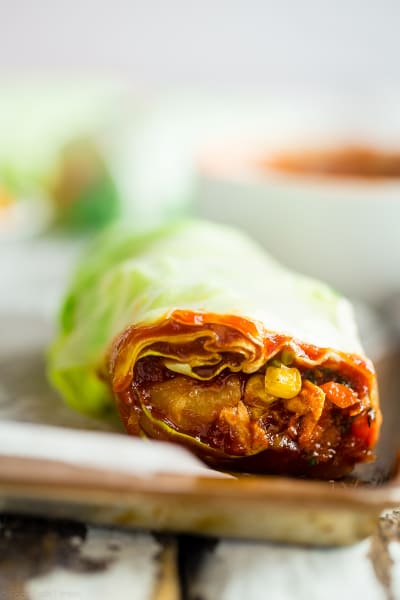 BBQ Chicken Summer Rolls Pic