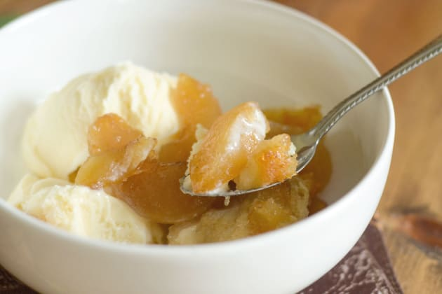 Gluten Free Caramel Apple Magic Cobbler Pic