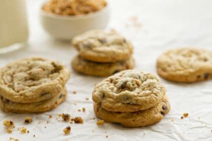 Heath Bar Cookies: Toffee-tastic