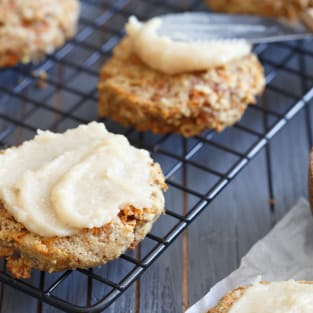 Paleo carrot cake cookies photo