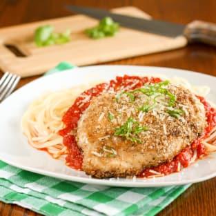 Gluten free chicken parmesan photo