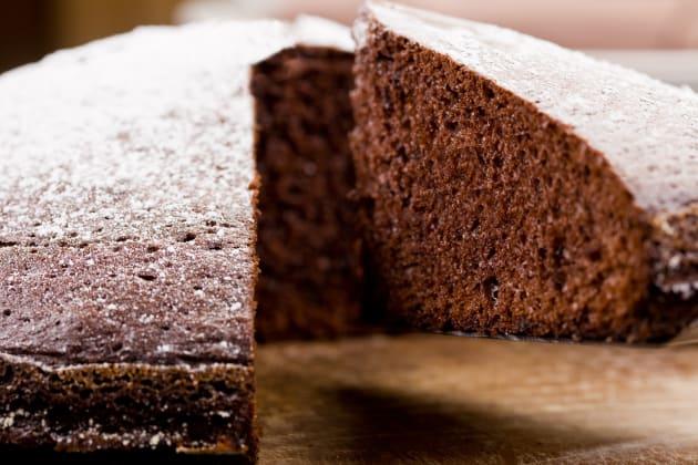 Chocolate Sponge Pudding Photo