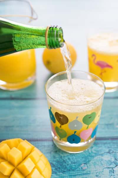 Sparkling Mango Lemonade Picture
