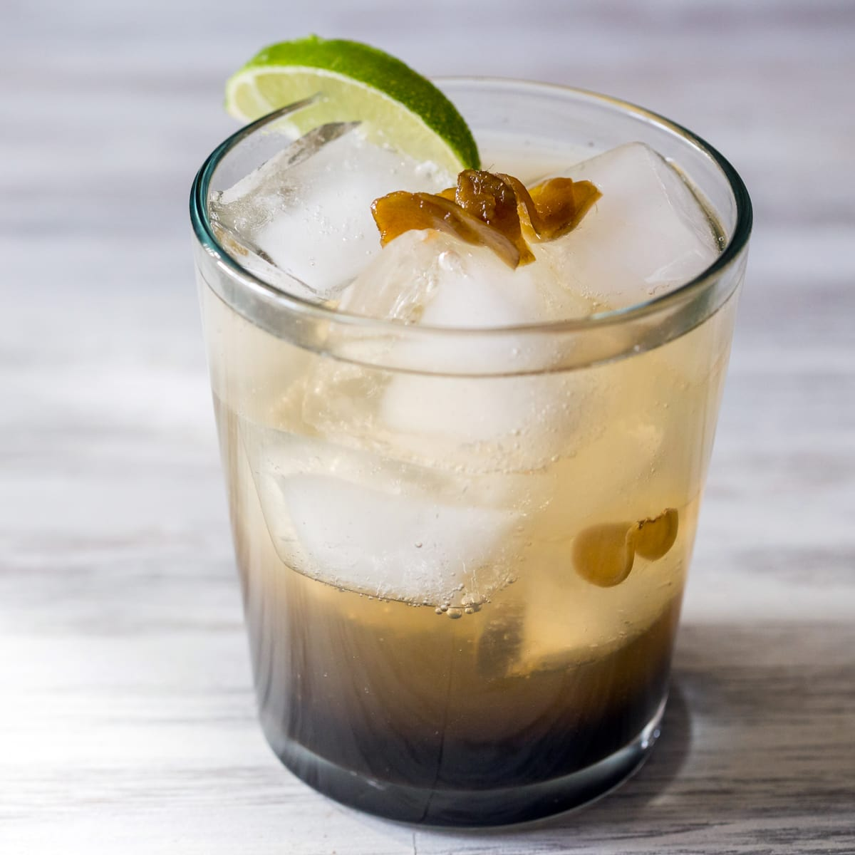 Spicy Ginger Rum Cocktail Recipe Food Fanatic